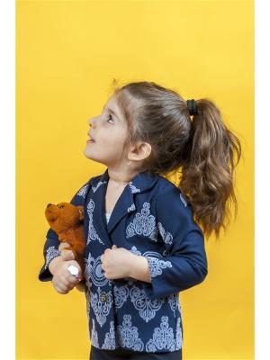 Пиджак Funny Bunny by Aisel M. Цвет: темно-синий
