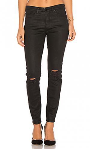 Рваные узкие джинсы с покрытием BLANKNYC. Цвет: none