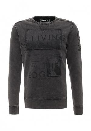 Свитшот Staff Jeans & Co.. Цвет: серый