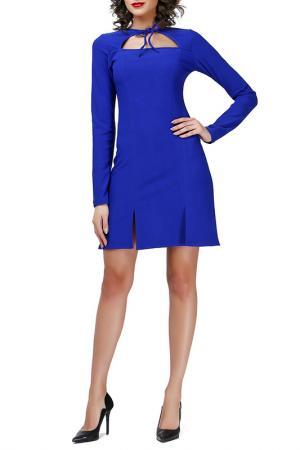 Платье Adelin Fostayn. Цвет: электрик