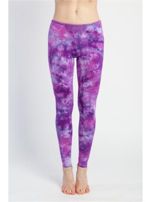 Леггинсы женские Флэш yogadress. Цвет: фиолетовый