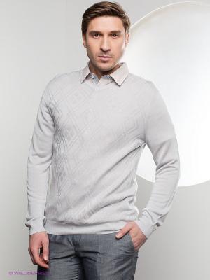 Пуловер Gregory. Цвет: светло-серый