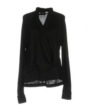 Pубашка MICHEL KLEIN. Цвет: черный
