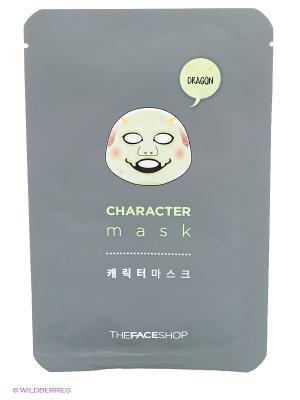 Тканевая маска для лица (Дракон), 20г The Face Shop. Цвет: белый