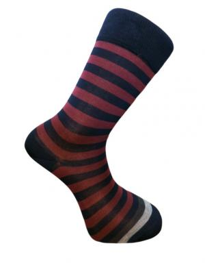 Носки мужские JOHN FRANK. Цвет: бордовый