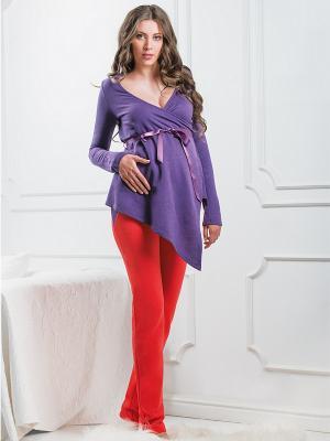 Блузка Nid d'Ange. Цвет: фиолетовый