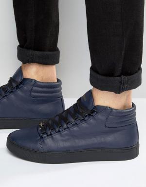 Glorious Gangsta Высокие кроссовки Paris. Цвет: темно-синий