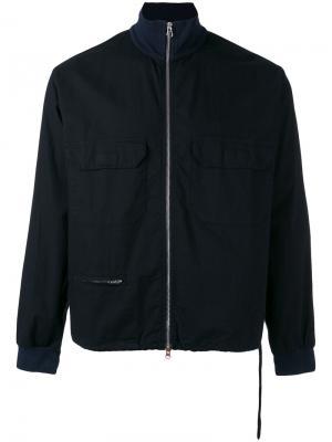 Куртка-блузон Labo Art. Цвет: синий