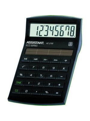 Калькулятор настольный Assistant. Цвет: черный