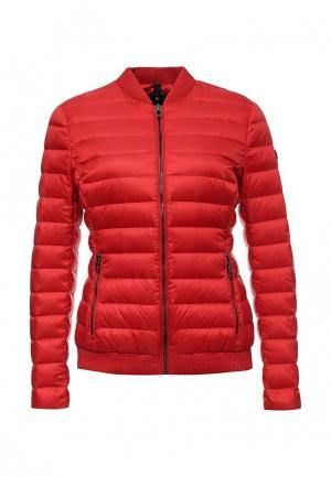 Куртка утепленная Joop!. Цвет: красный