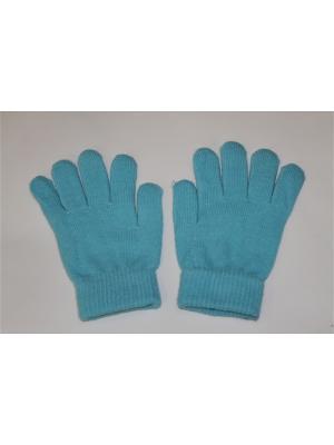 Перчатки Cascatto. Цвет: голубой