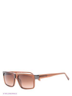 Солнцезащитные очки GF 984 04 Gianfranco Ferre. Цвет: коричневый