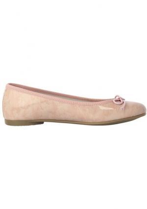 Туфли-балетки Heine. Цвет: розовый, серо-коричневый