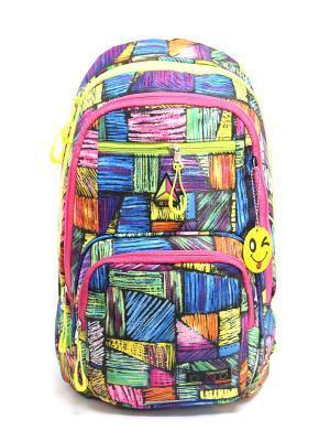 Рюкзак UFO PEOPLE. Цвет: черный