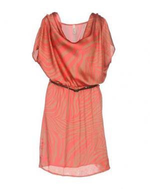 Короткое платье SOUVENIR. Цвет: пастельно-розовый