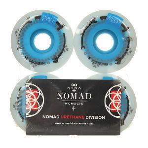 Колеса для скейтборда  Innercore White/Blue 101A 54 mm Nomad. Цвет: синий,белый
