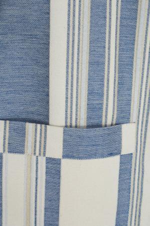 Хлопковый жакет Arapkhanovi. Цвет: голубой, молочный