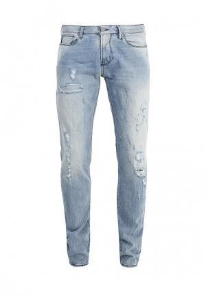 Джинсы Armani Jeans. Цвет: голубой