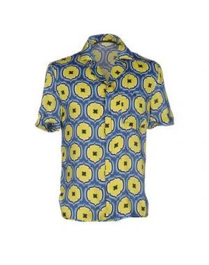 Pубашка GAETANO NAVARRA. Цвет: желтый