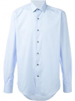 Классическая рубашка Lanvin. Цвет: синий