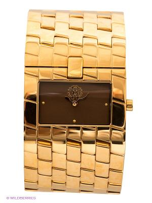 Часы Roberto Cavalli. Цвет: золотистый