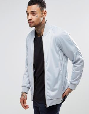 Your Own Куртка с накладками на локтях. Цвет: серебряный