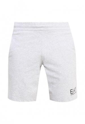 Шорты спортивные EA7. Цвет: серый