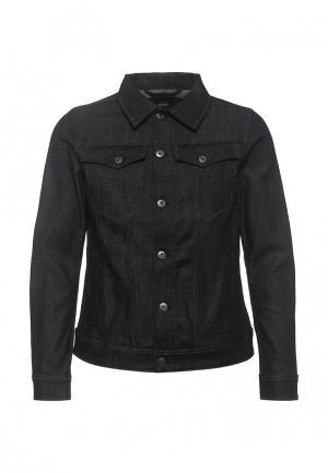 Куртка джинсовая G-Star. Цвет: черный