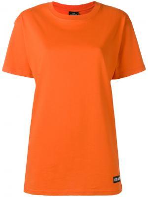 Футболка Kanye 77 Les (Art)Ists. Цвет: жёлтый и оранжевый