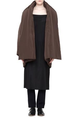 Пальто Cyrille Gassiline. Цвет: горький шоколад