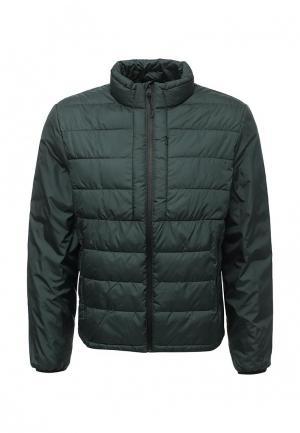Куртка утепленная Mango Man. Цвет: зеленый