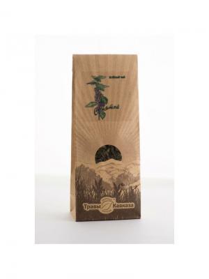 Чай зеленый с мятой Травы Кавказа. Цвет: бежевый
