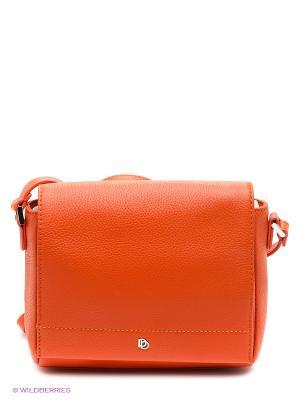 Сумка Pimo Betti. Цвет: оранжевый
