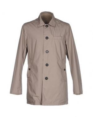 Легкое пальто AT.P.CO. Цвет: голубиный серый