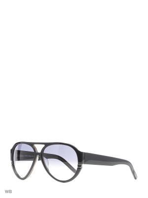 Солнцезащитные очки B 52 C6 Borsalino. Цвет: черный