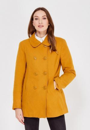 Пальто Colins Colin's. Цвет: желтый
