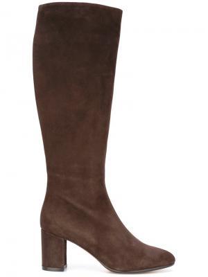 Высокие сапоги Jean-Michel Cazabat. Цвет: коричневый