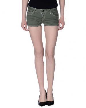 Повседневные шорты MAGILLA. Цвет: зеленый-милитари