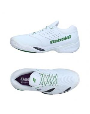 Низкие кеды и кроссовки BABOLAT. Цвет: белый