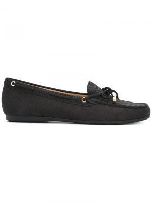 Embossed loafers Michael Kors. Цвет: чёрный