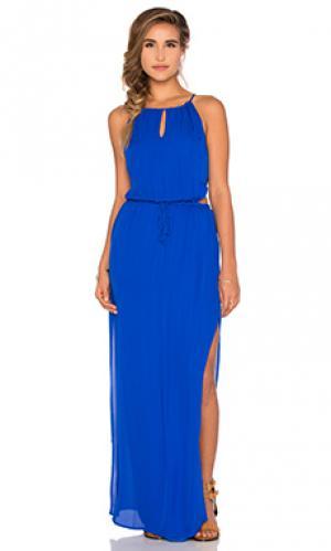 Вечернее платье lauren Rory Beca. Цвет: синий