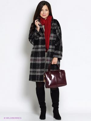 Пальто Electrastyle. Цвет: черный, серый