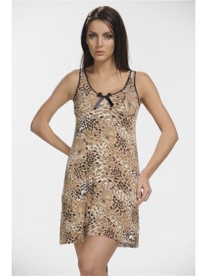 Ночные сорочки Sevim Linse. Цвет: коричневый