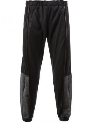 Классические спортивные брюки Cottweiler. Цвет: синий