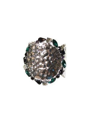 Браслет Claudio Canzian. Цвет: серебристый, зеленый, фиолетовый