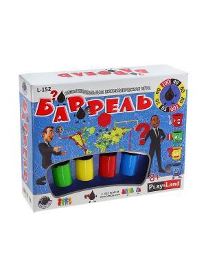 Настольная игра Баррель PLAY LAND. Цвет: бежевый, белый, бирюзовый, голубой, желтый, зеленый, золотистый, индиго, коралловый, коричневый, красный, кремовый, лазурный, лиловый, малиновый, серый, черный