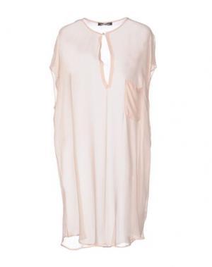 Короткое платье DAMIR DOMA. Цвет: розовый