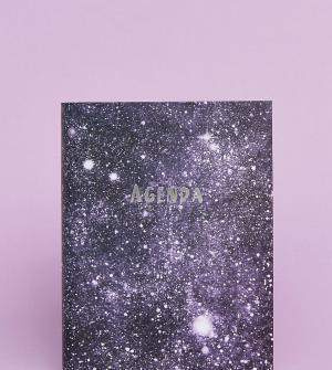 OHH DEER Ежедневник с принтом звездного неба на обложке эксклюзивно для Dee. Цвет: мульти