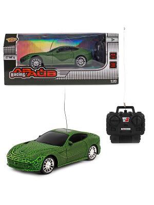 Машина на радио управление VELD-CO. Цвет: черный, зеленый