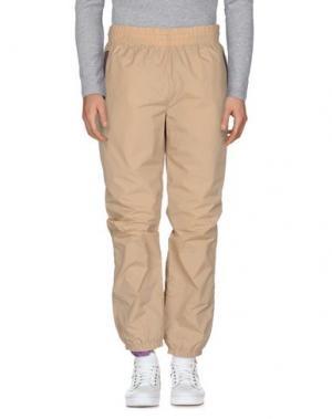 Повседневные брюки UNDEFEATED. Цвет: песочный